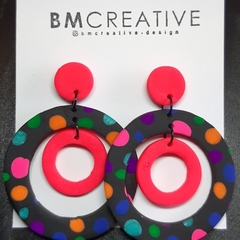 Black and pink target