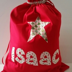 Personalised Santa Sacks - large name (over 5 letters)