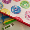 Iced donut pencil case