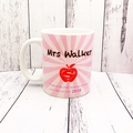 Personalised Teacher quote with Names & pictures, Coffee or Tea Mug