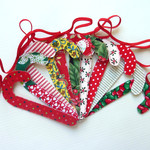 Candy Cane Garland, ready to ship, free domestic shipping