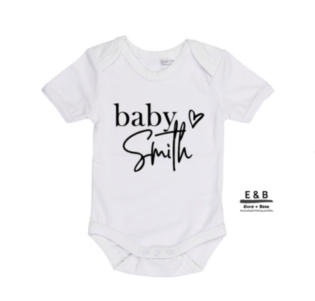 Personalised Onesie or T-shirt - Pregnancy Announcement