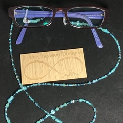 Turquoise Beaded Glasses Holder Reading Glasses Sunglasses Lanyard