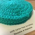 Face Scrubbies-reusable & washable - Fern