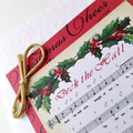Christmas Card - Music 'Deck The Halls'
