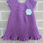 Crochet Party Dress