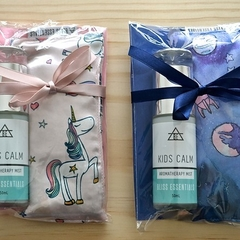 Kids Calm Aromatherapy Mist & Herbal Eye Pillow