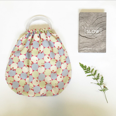Beach bag/ handbag/ reusable grocery bag - upcycled and eco friendly