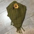 Handwoven Summer scarf.