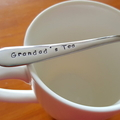 Grandad`s Christmas Gift,Tea,Stamped Spoon,Fathers Day, ,Custom, Pop,Grand