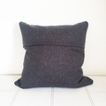 Hand printed Emu cushion with duck feather insert