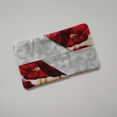 Tissue Holder Pouch - Red Poppy - Handbag Accessory - Gift for Her