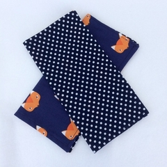 Reusable Cloth Lunchbox Napkins - set of 6