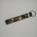 Key Ring - Key Fob / Wristlet - Mulberry & Leaves - Olive Green - Accessory/Gift