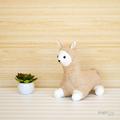 Alpaca Twin Softies Sewing Pattern PDF Stuffed Animal Pattern