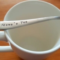 Custom Spoon, Nana`s Tea, Coffee,Spoon,Mothers Day, grandma,grandmother,