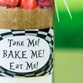 TAKE ME, BAKE ME, EAT ME Cookie Mix Party Favours. SMALL - makes 6 cookies
