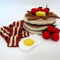 Felt Play Food big Breakfast Set
