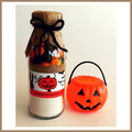 Halloween Trick or Treat Cookie Mix in a Bottle. SMALL - makes 6 spooky cookies