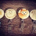 Button ID Badge Reel package- Baby animals