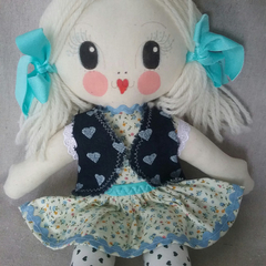 Poppy Ellie doll | Unique handmade doll | Handmade with love