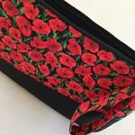 Custom clutch, Clutch bag, Poppy bag, Poppies clutch
