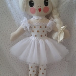 Poppy Bianca ballerina doll | Unique handmade doll | 