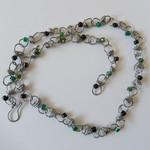 Unisex linked necklace