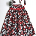 "Size  8 - ""Xmas Grandeur"" Christmas Dress"