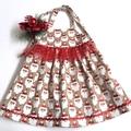 "Sizes 1 and 2 - ""Xmas Sparkle"" Christmas Dress"