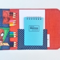 Spiderman Pencil Wallet,  Pencil Case, drawing set