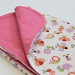 Flannel Baby Blanket Bugs & Butterflies