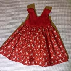 Kristy custom order Christmas dress