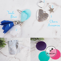 Embrace Your Inner Wild Inspirational Keyring * Bag Tag Key Chain Ring *