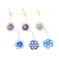 Christmas Ornament Jute Paper Raffia Floral BeachCoastal Nautical Decor