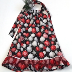 "Size 5 - ""Xmas Grandeur"" Christmas Dress"