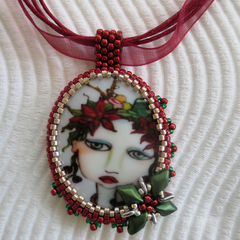 Sugar Plum Fairy Christmas Pendant