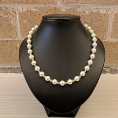 Necklace - Swarovski Pearl and Crystal