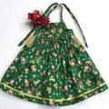 "Size 2 Months - ""Xmas Jingle"" Christmas Dress"