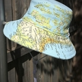 Child's sun hat - Land & Sea - 3-5 yrs