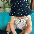Navy unisex hat, sunhat for babies and toddlers