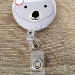 Button ID Badge Reel - Wombat #2