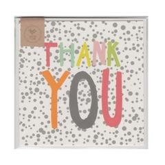 THANK YOU CONFETTI - MINI CARD