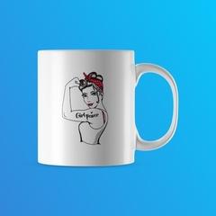 #910 - Girl power mug