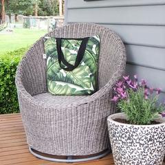 Tropical Canvas Tote Bag