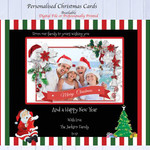 Christmas Card, Personalised Digital File