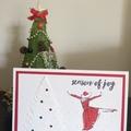 Bulk 4 Christmas Cards - Christmas Joy (free postage)