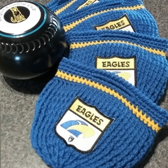 AFL/WEST COAST EAGLES LAWN BOWLS BEANIES/CARRY BAGS/PROTECTORS