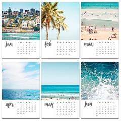 """2019 Bondi Beach 4x6"""" Calendar"""
