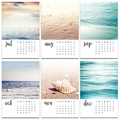 "2019 Beach 4x6"" Calendar"